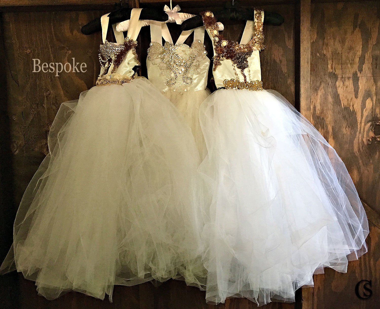 Bespoke Fairy Tale Jeweled Kid Dresses CHIARIstyle