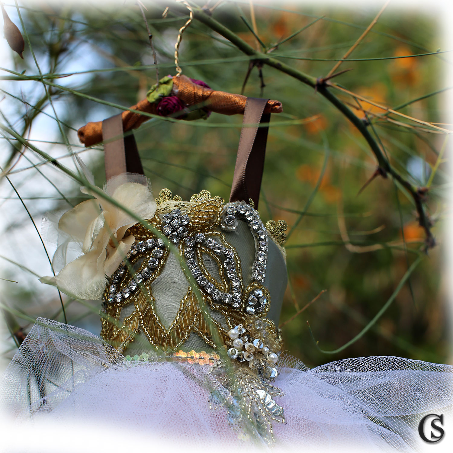 Bespoke faerie ball gowns CHIARIstyle