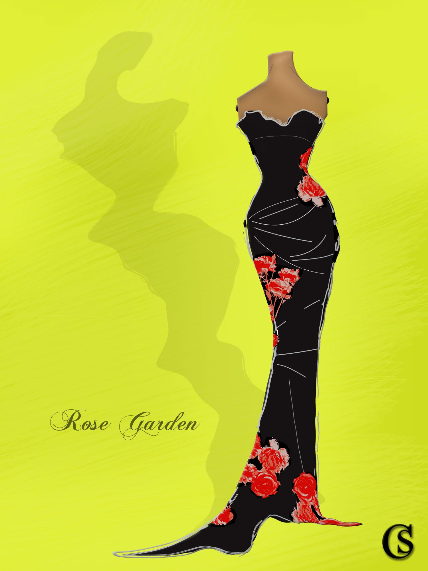 Slip into the Rose Garden, CHIARIstyle