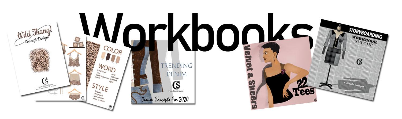 CHIARIstyle fashion workbooks for trend design.