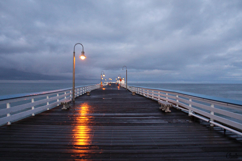 On the pier San Clemente CHIARIstyle