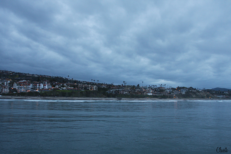 Indigo in the morning San Clemente Pier CHIARIstyle