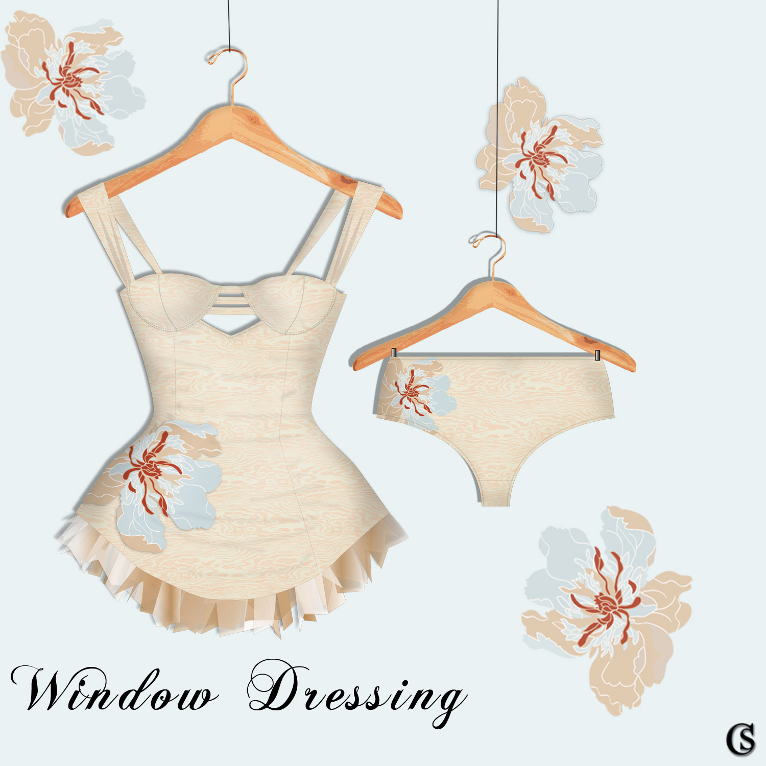 Window Dressing The Bustier & the Panty Set CHIARIstyle