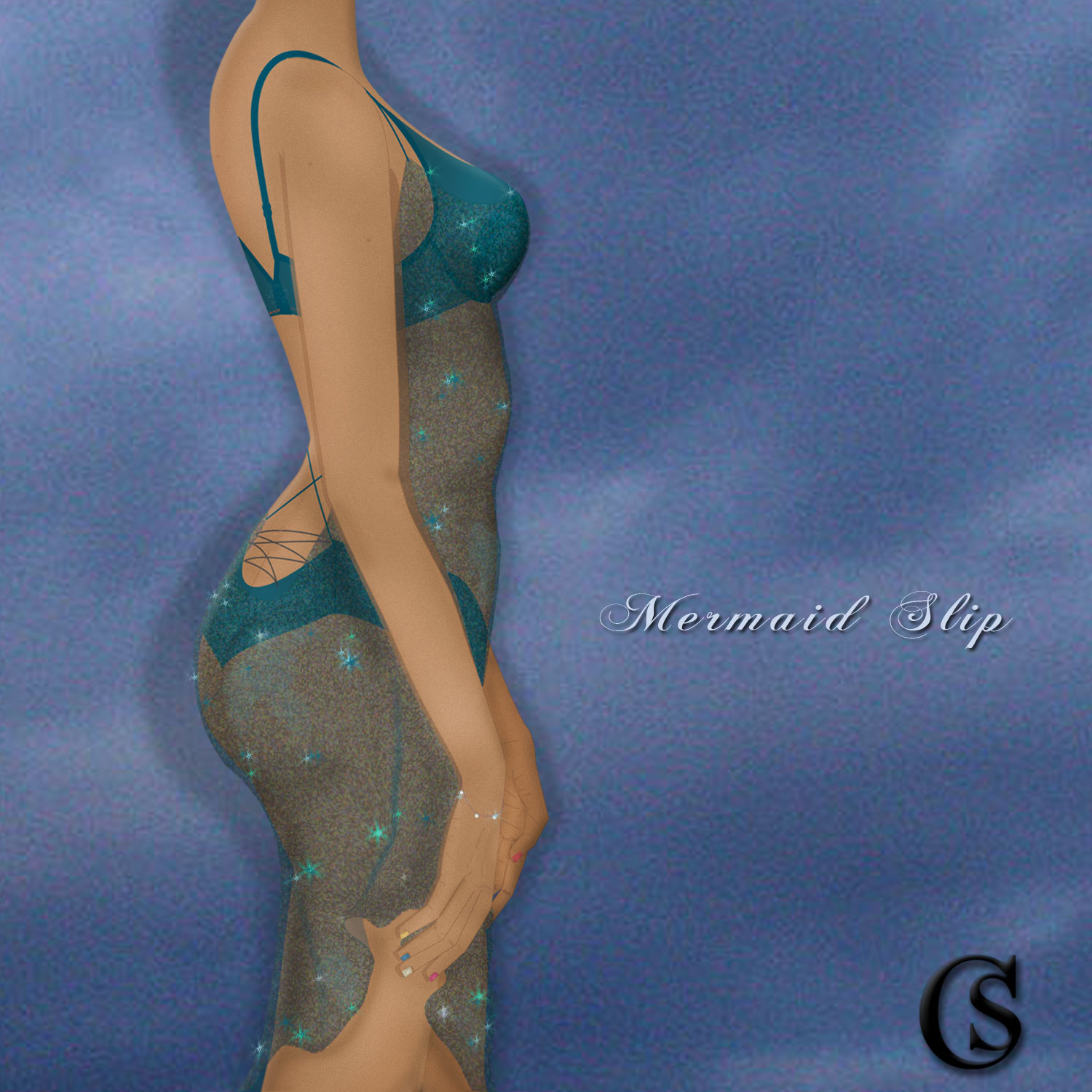 The Mermaid Slip is trending into lingerie concepts CHIARIstyle