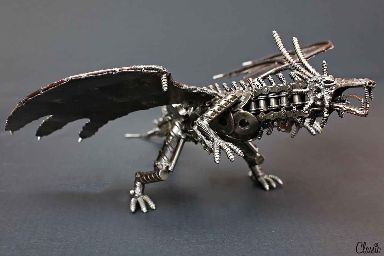The dragon from the Pomona Swap Meet