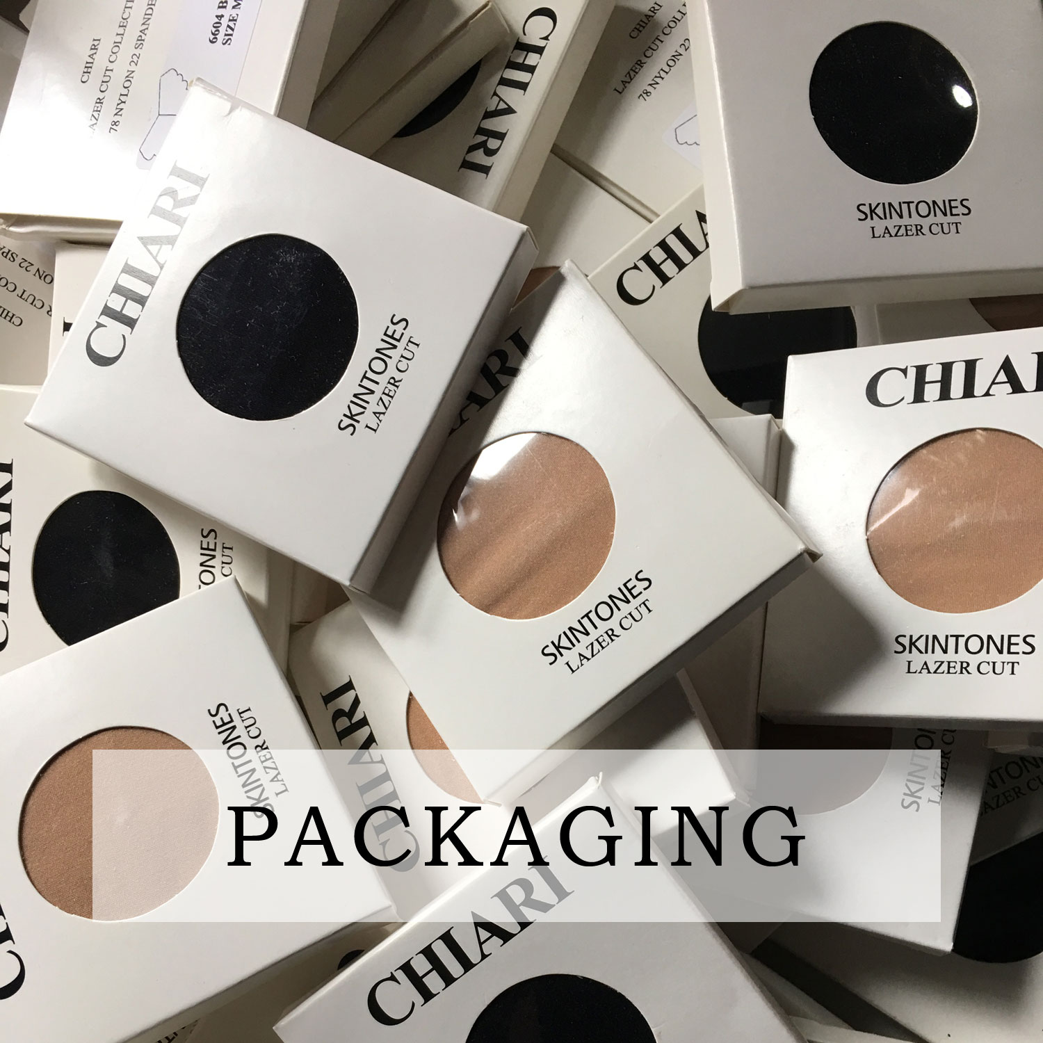 Packaging concept CHIARIstyle