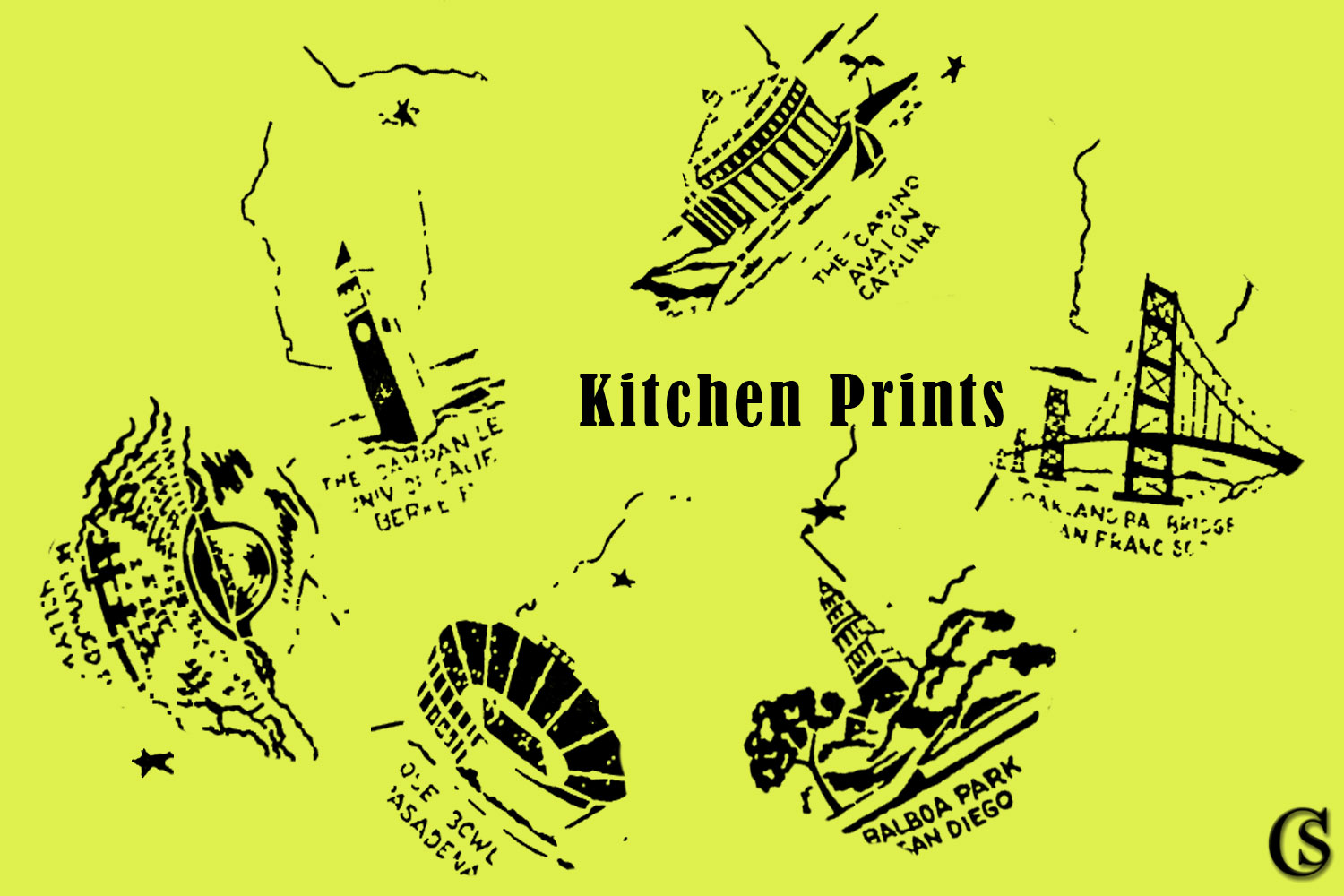 Kitchen Prints, CHIARIstyle
