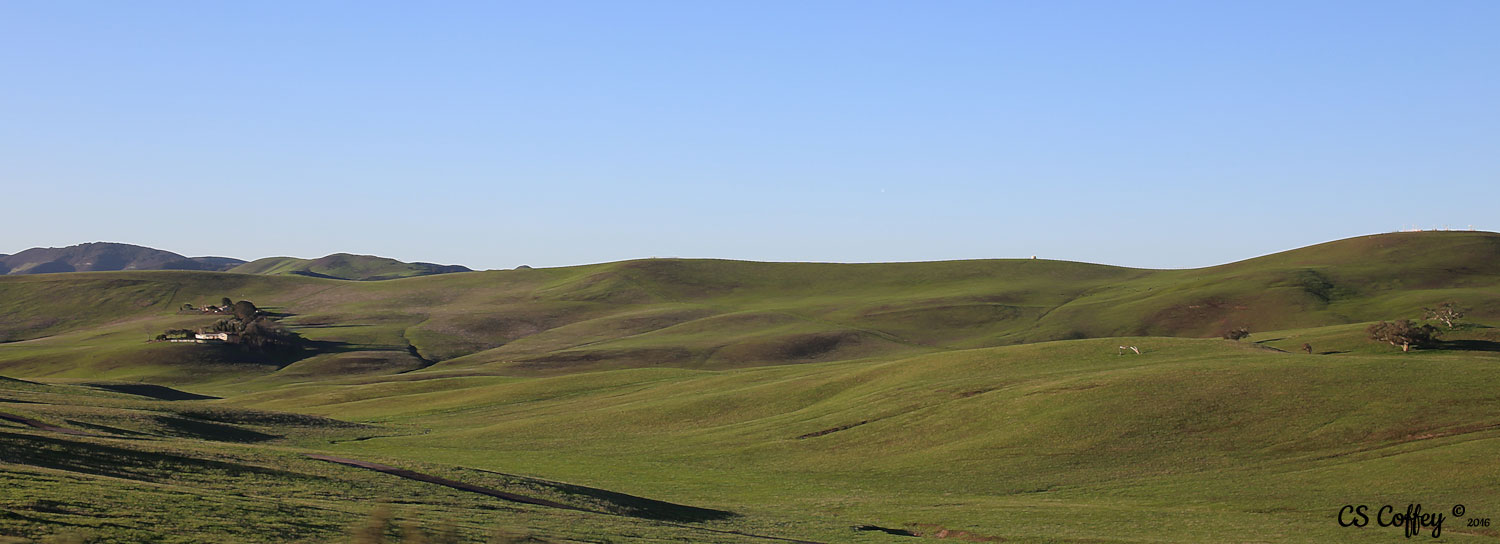 Landscapes at CHIARIstyle, take a fashion break and enjoy the scenic drive through Central California.