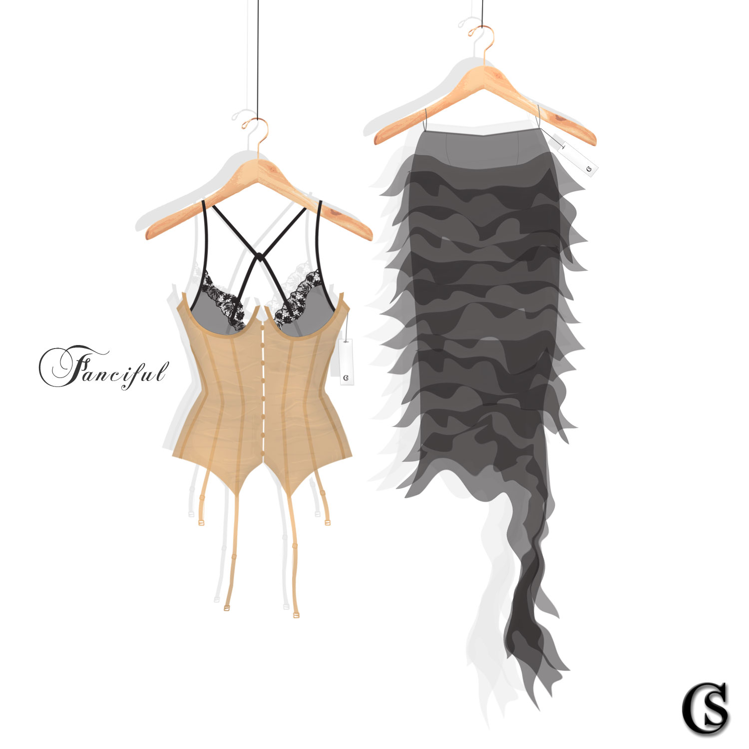 Lingerie design at CHIARIstyle