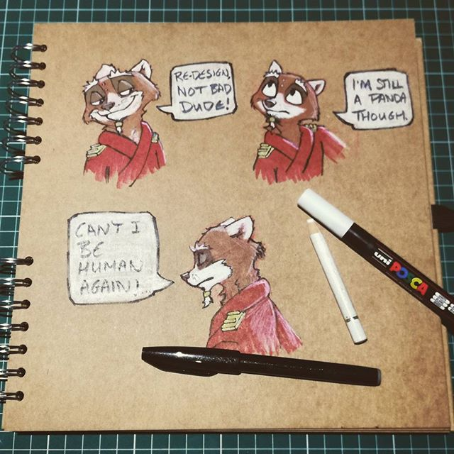 I'm just applying a little of what I have learned recently to one of my own characters. He looks a little more rounded as a character now.  My own creations seem to shamelessly complement me. Need to speak to my writer @tomscarlett6 about this. I don't think he would allow any of his creations to be this kind to me. . . . . . . . .  #makingcomics #sketchbook #characterdesign #instaart #artist #januarysketch