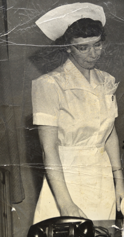 My mother, Carola...early 1940's