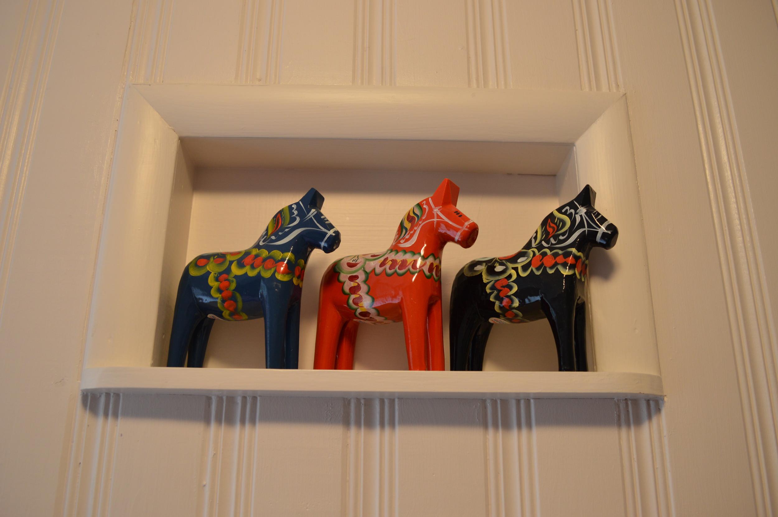 Dala horses...