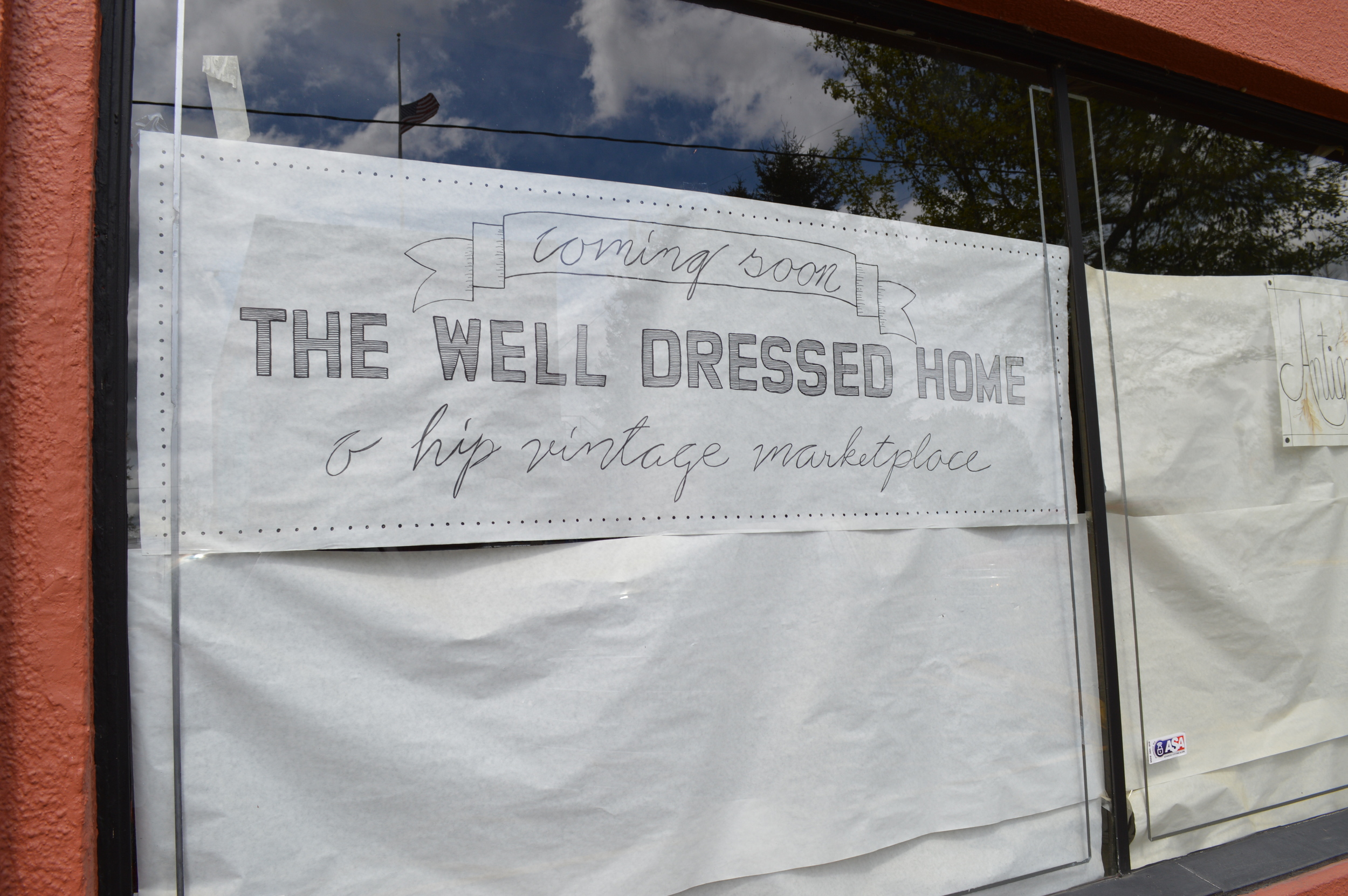 The Well Dressed Home...coming soon!