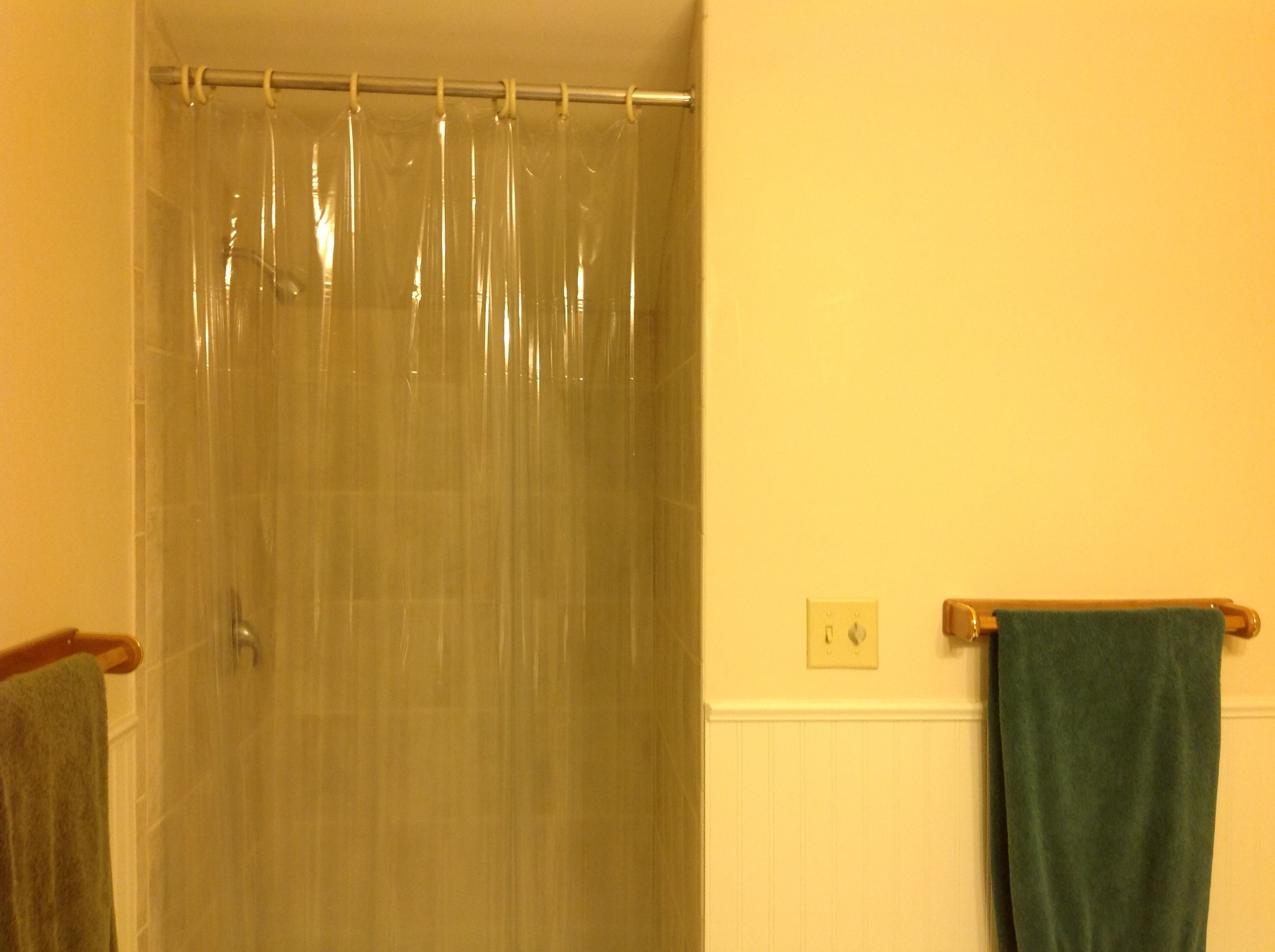 The master bath before...
