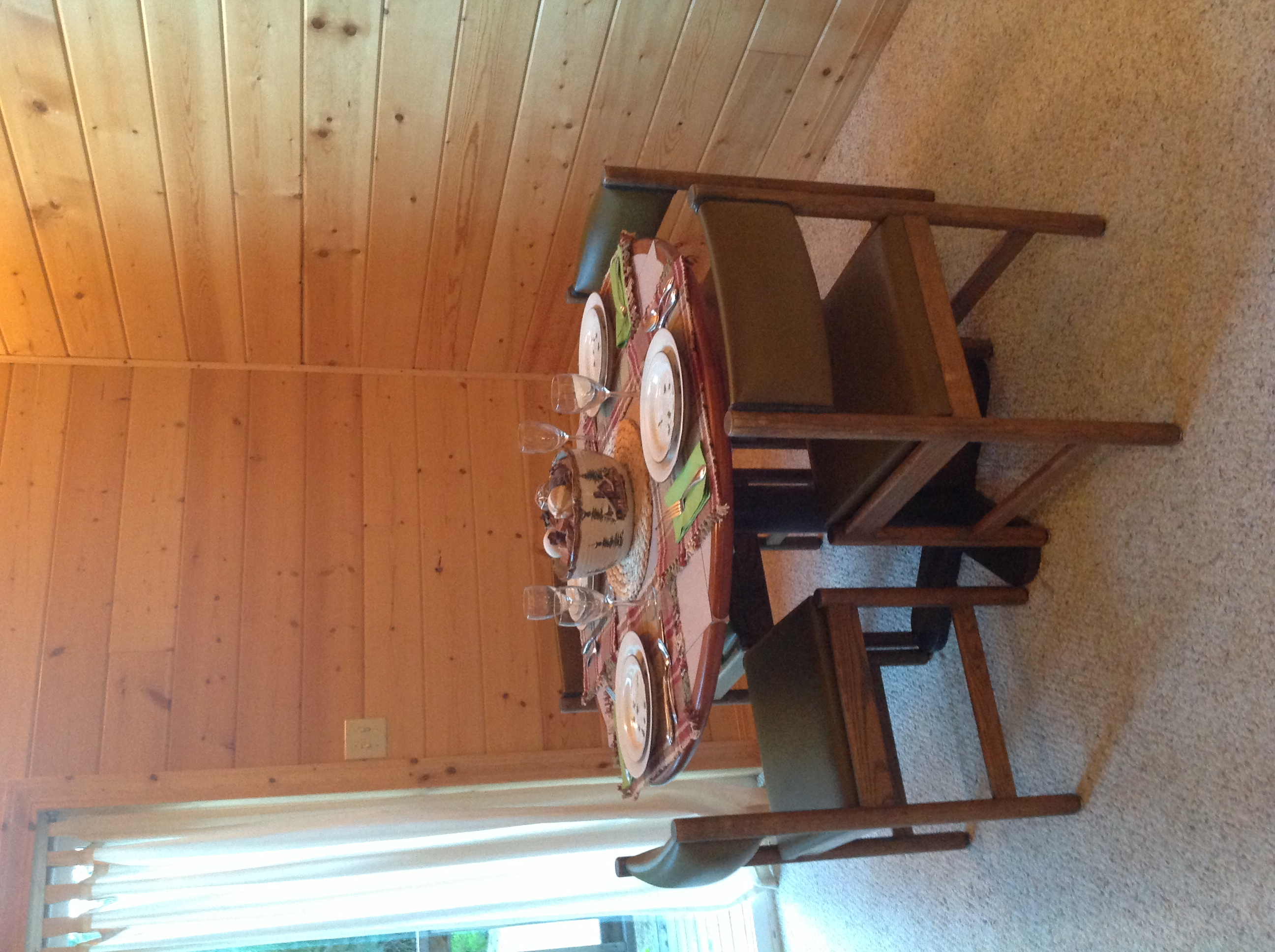 Dining area after...
