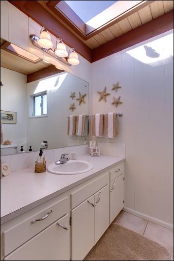 Upstairs bath...