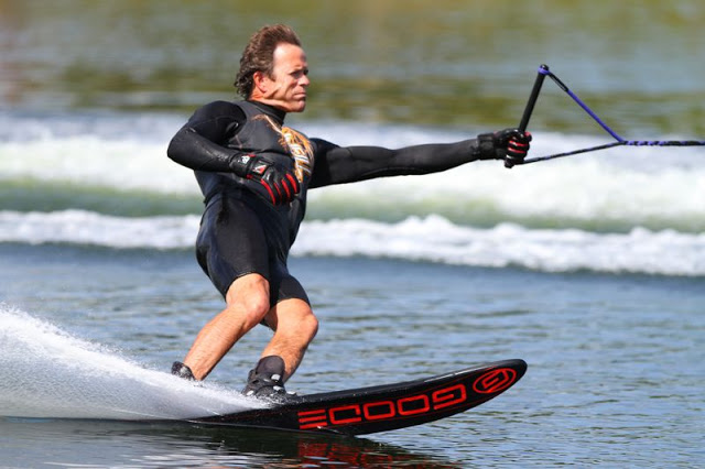 Steve Miller...an internationally ranked water skier, actively involved in the LS Waterski Club.