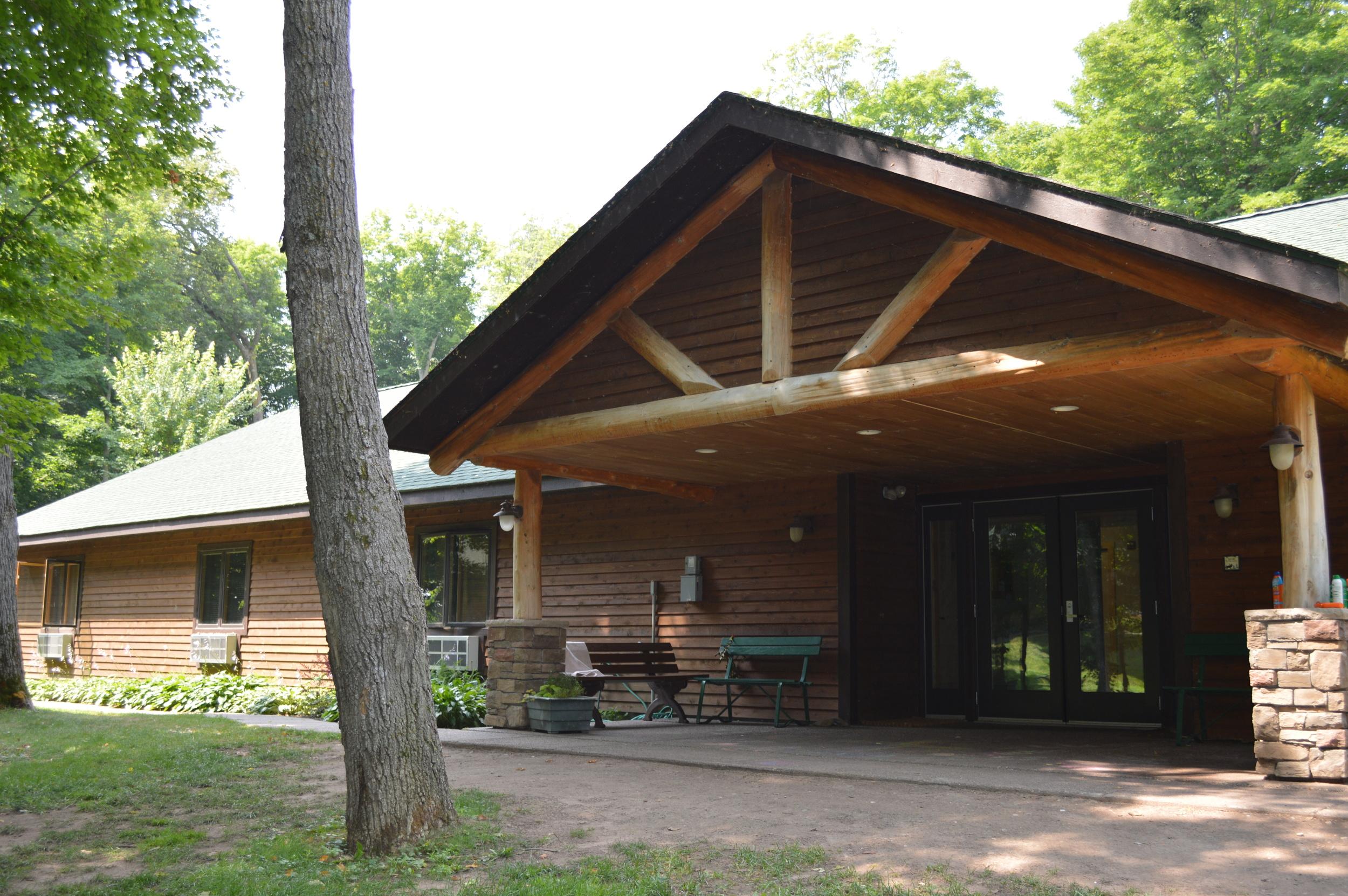 The lodge...