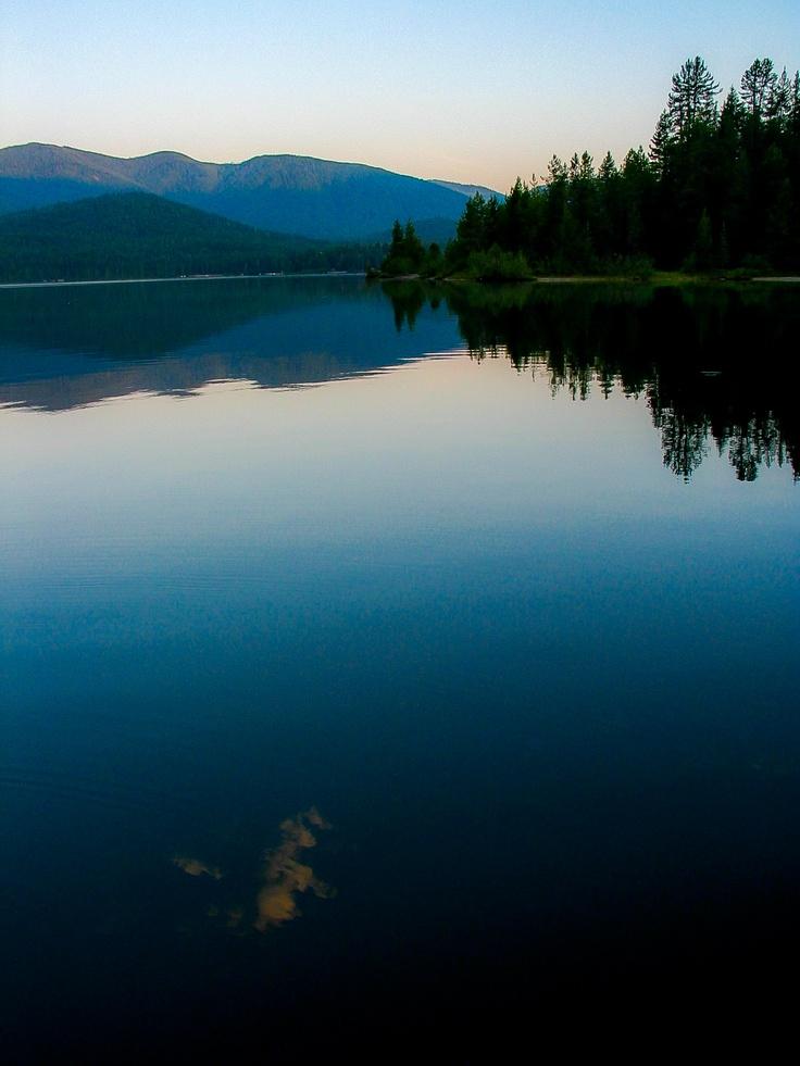 Priest Lake, Idaho...on a calm day!