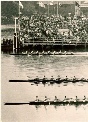 The 1936 Olympic final race...photo via pinterest.