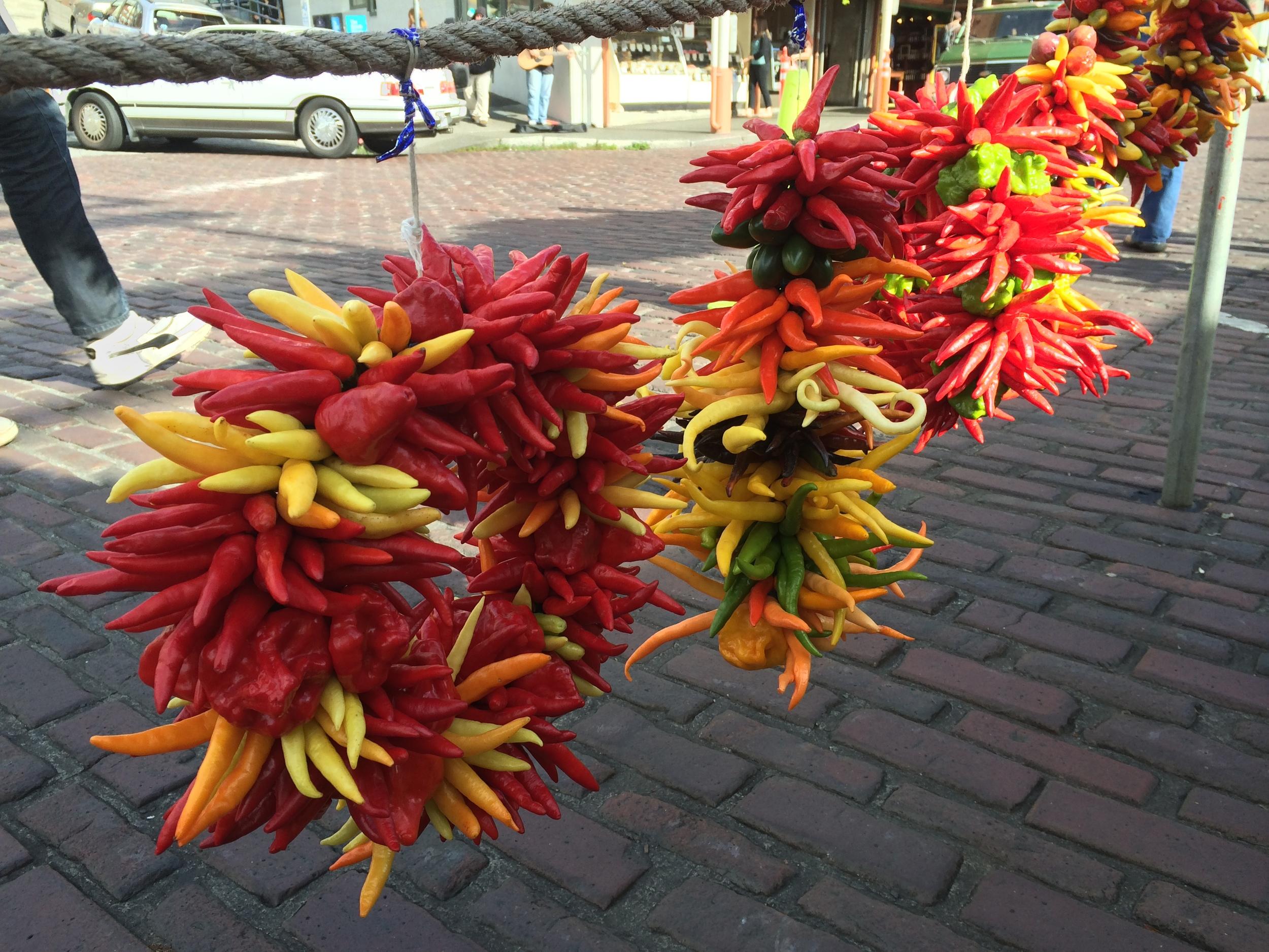 Pepper wreath, anyone?