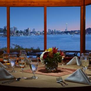 Ivar's Salmon House restaurant on Lake Union, Seattle via pinterest...