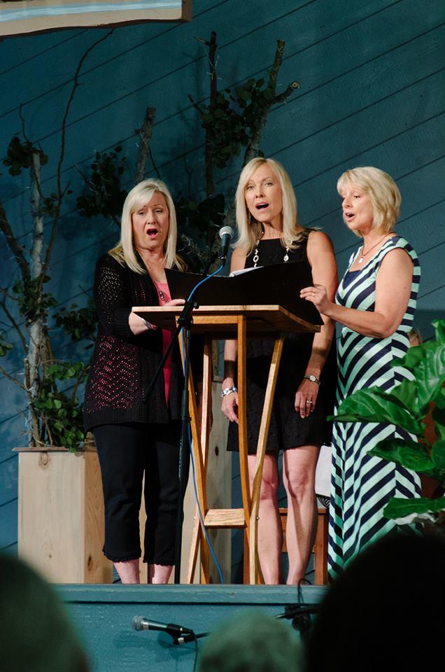 Lois, Gracia, and Lori...(Ruth Gunderson photo)