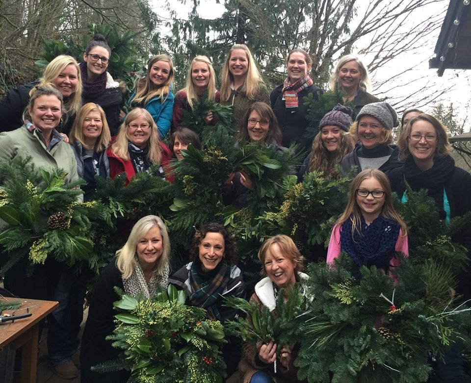 The wreath makers!