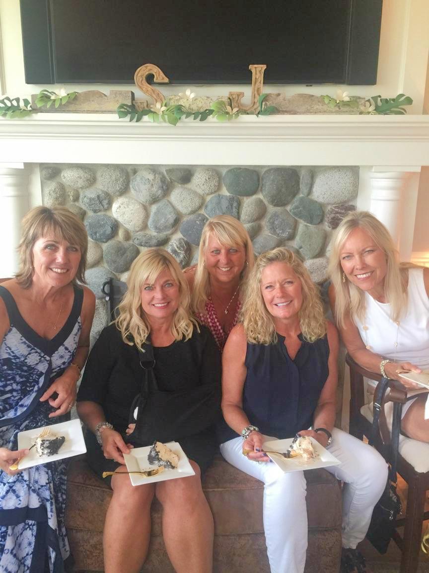 MariLee, Heidi, Claire, Rhonda, and me