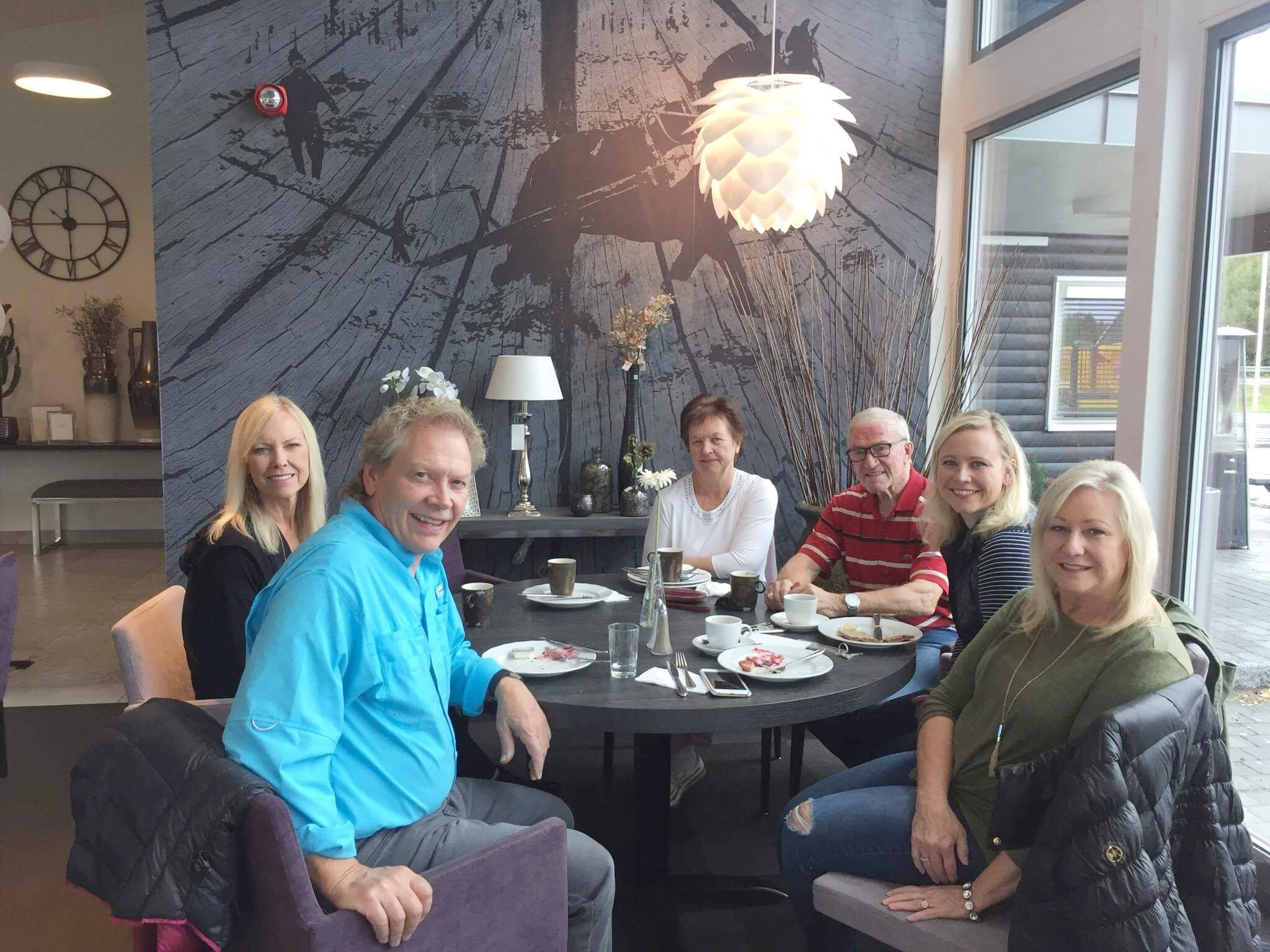 Gracia, Lyle, Audni and Roger Ferger, Rachel, and Lois...