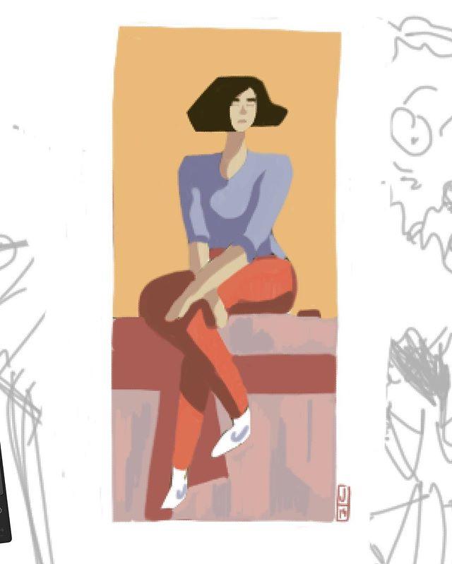 Procreate sketch. #sketch #procreate #sketchbook #art #illustration