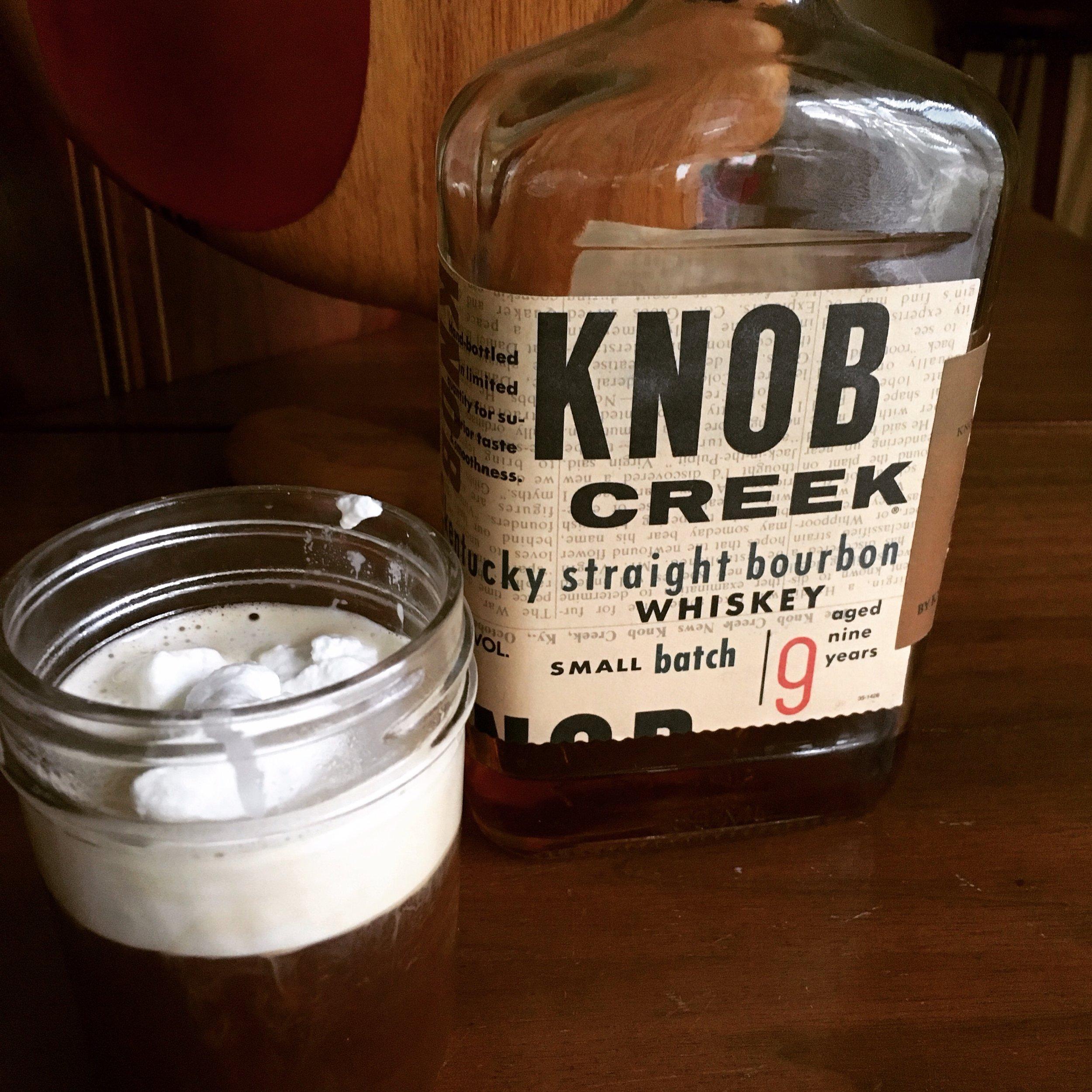 Hmmm...who's been drinking my Knob Creek 😂