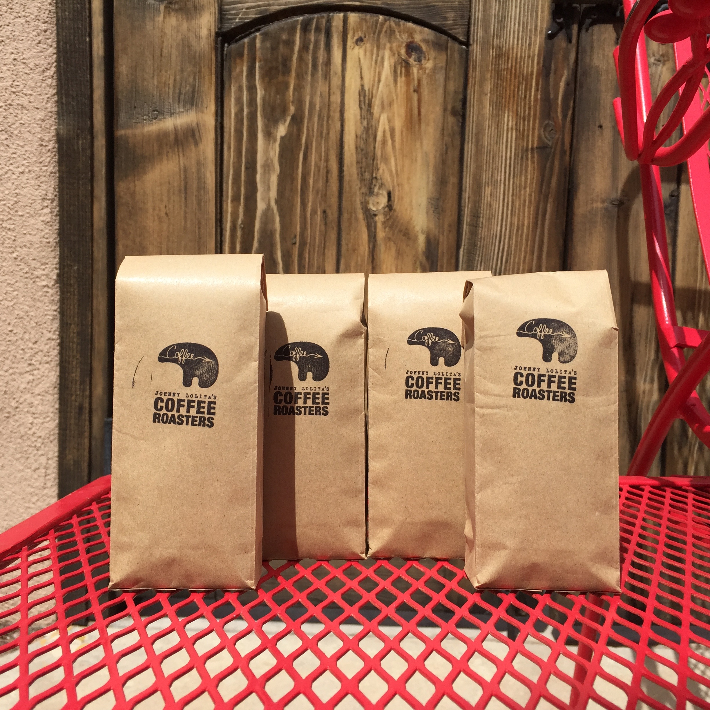 Coffee packs for guests