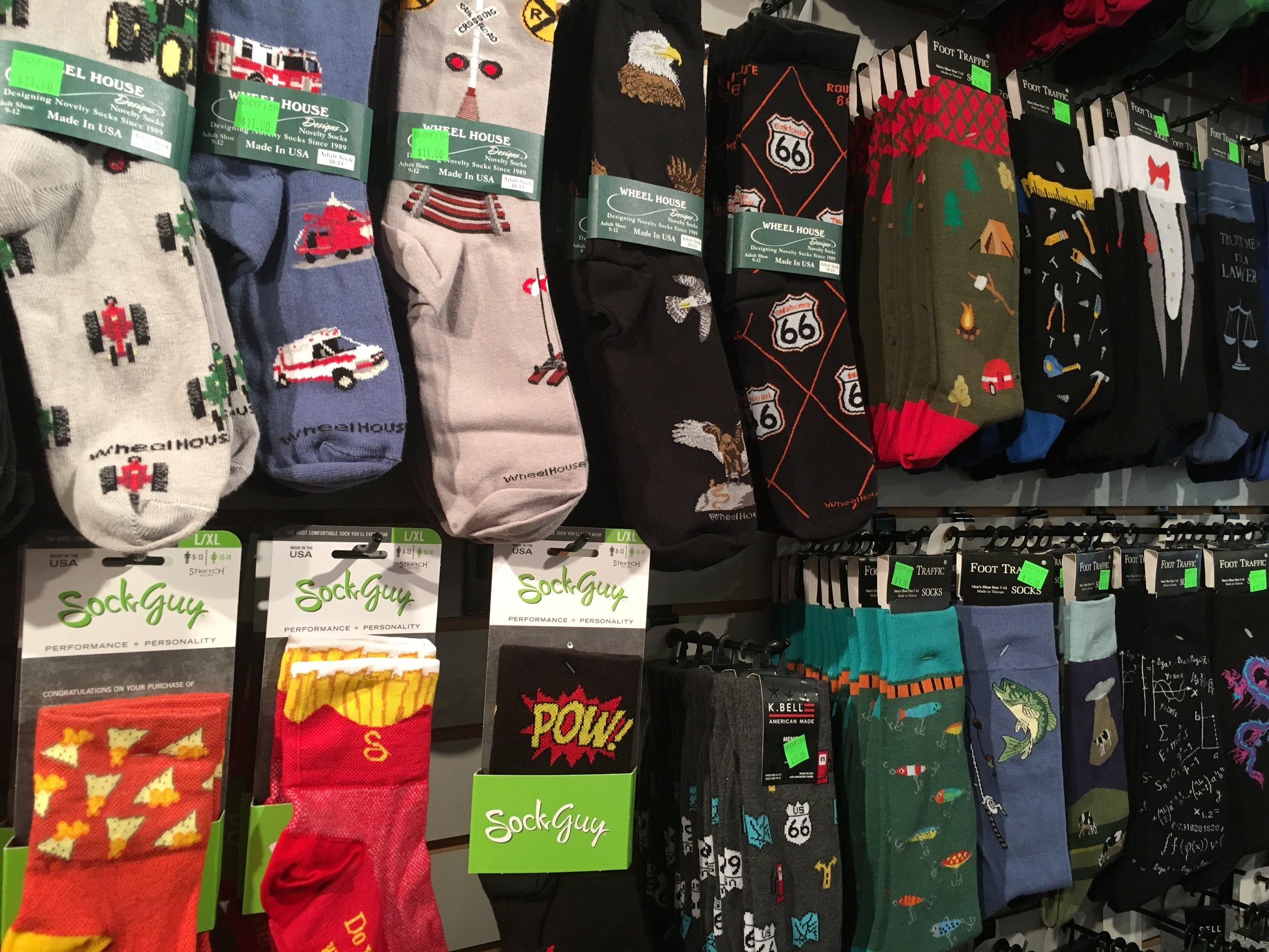 Walls of socks