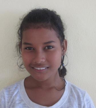 Griselda Muut, scholarship recipient.