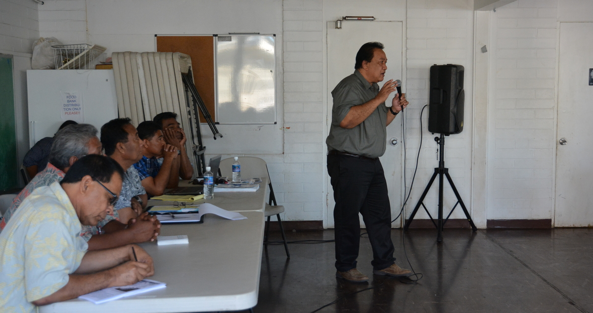 Commission holds a public hearing in Honolulu (January 2015).