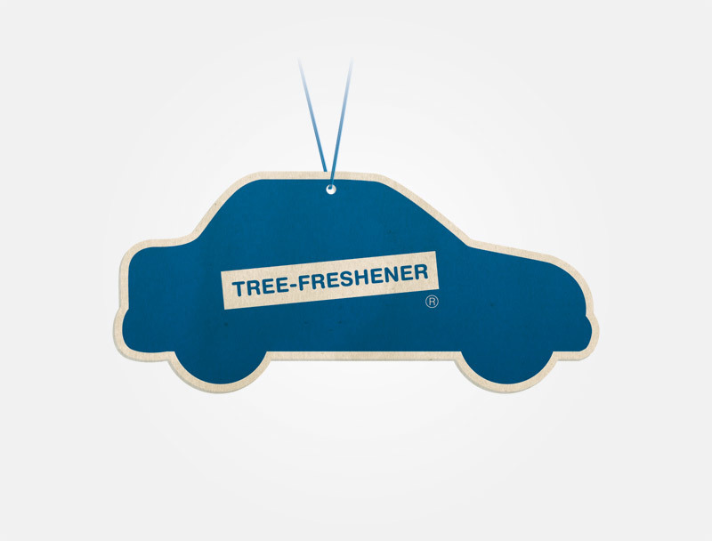 Freshen up your Christmas tree with authentic new car smell! Only 5.99.