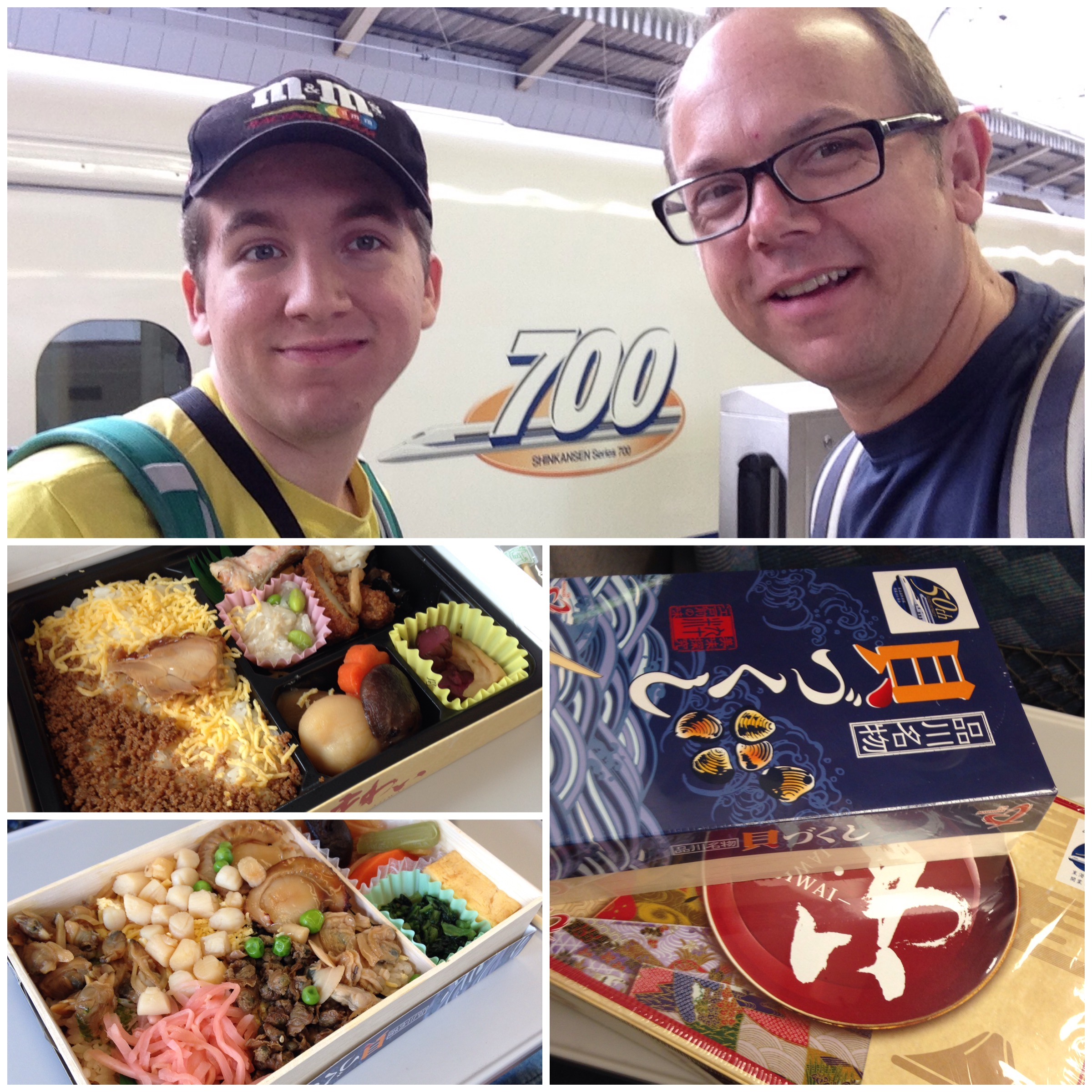 We just happened to be there during the 50th anniversary of the Shinkansen.