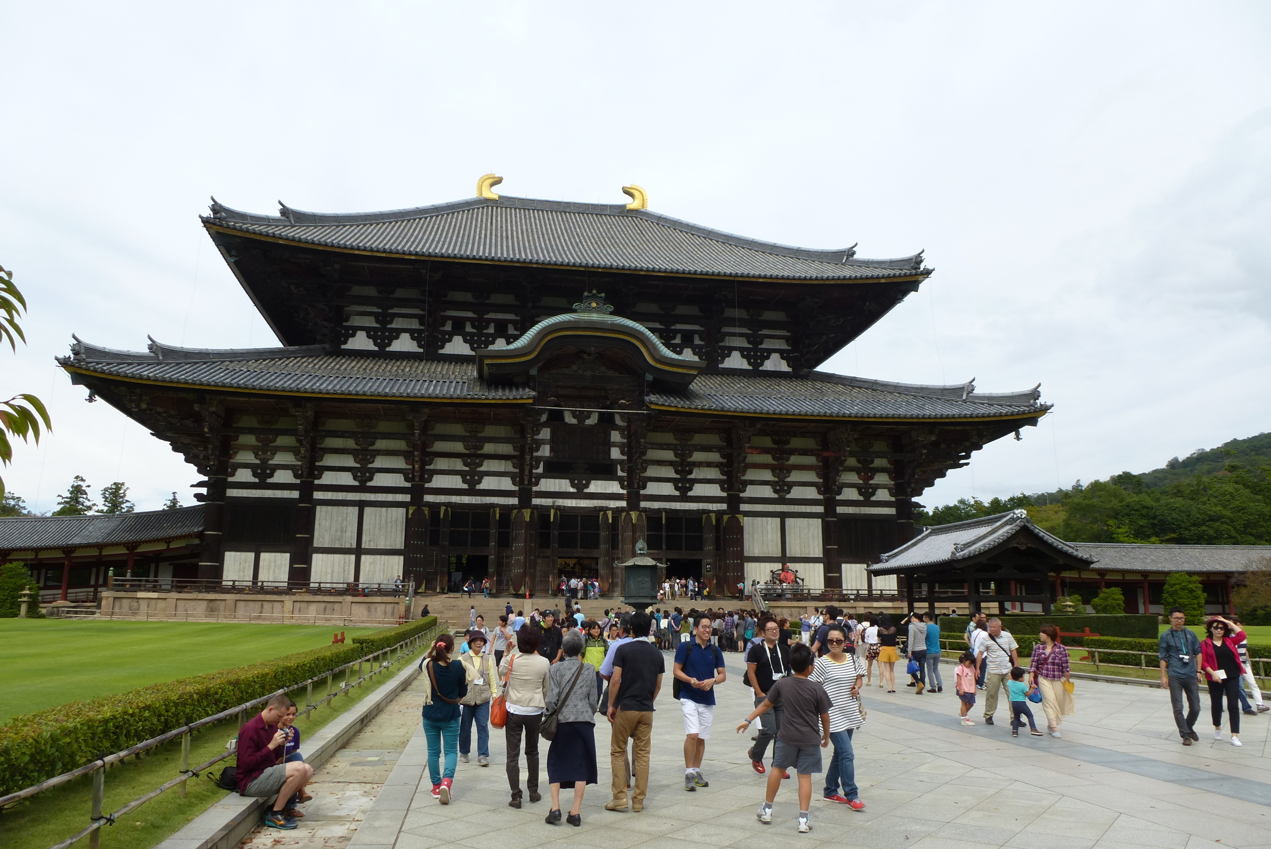 Todaiji Temple, home of the Big Buddha and the world's largest wooden building