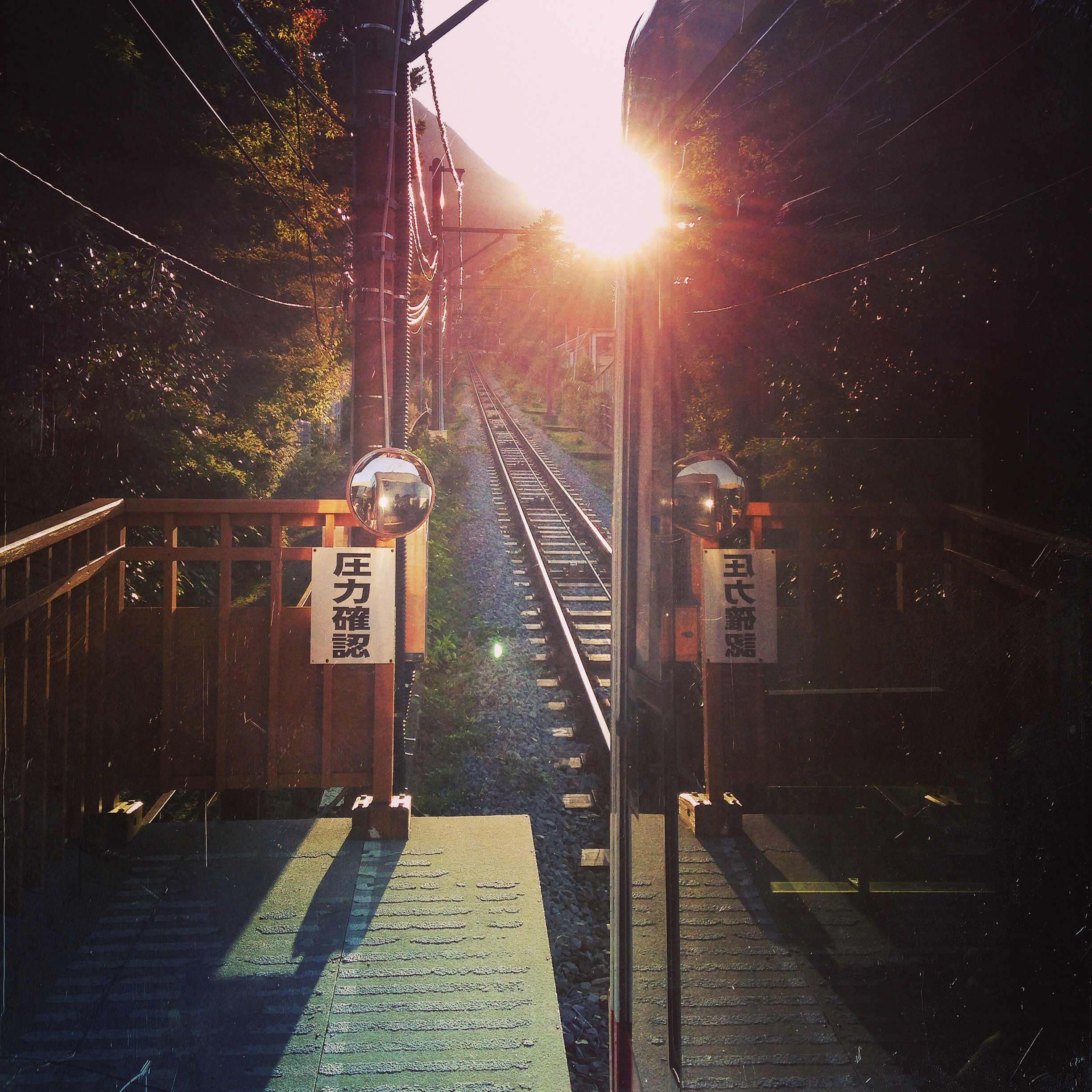 Once the rain stopped, we rode the funicular