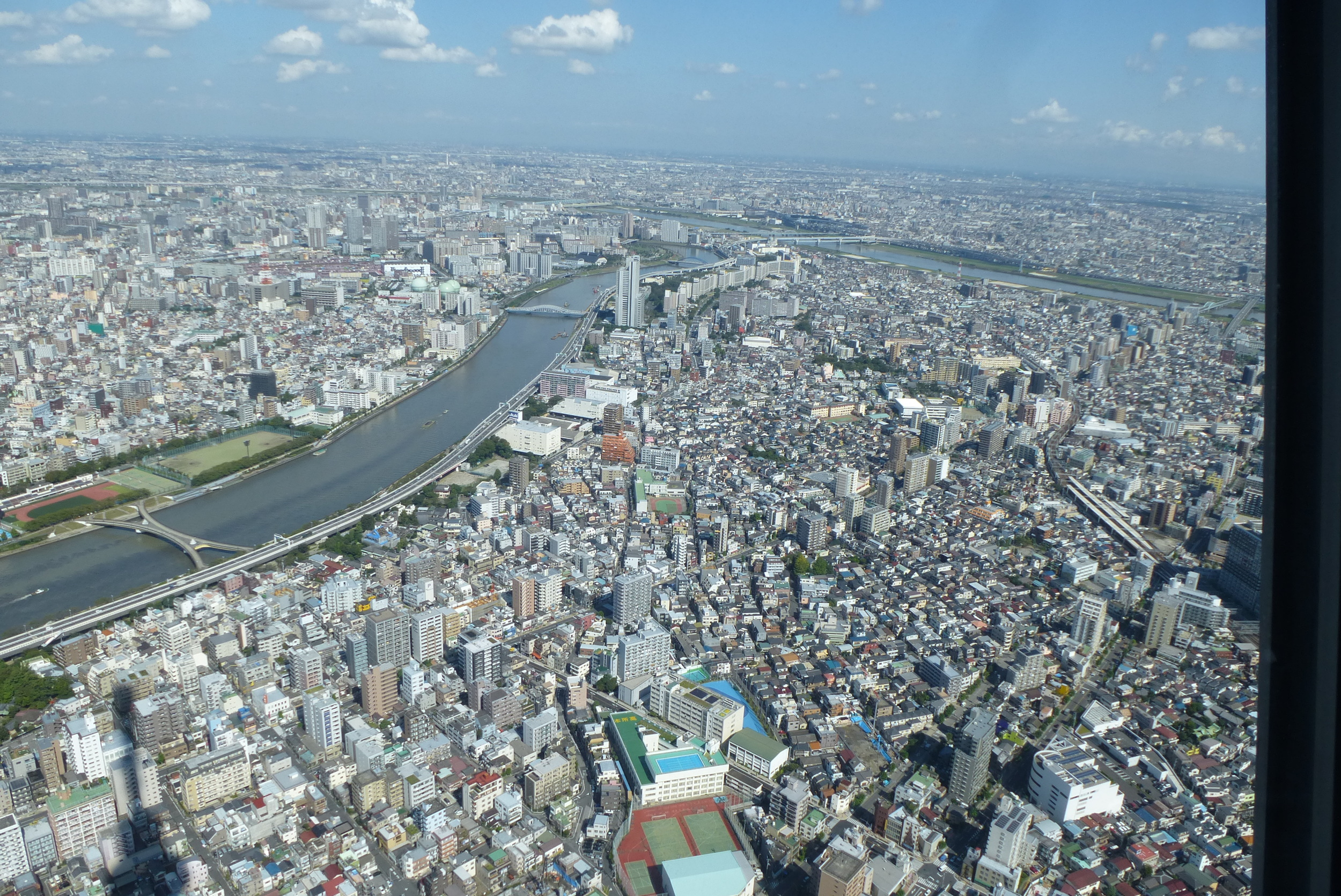 View from Skytree