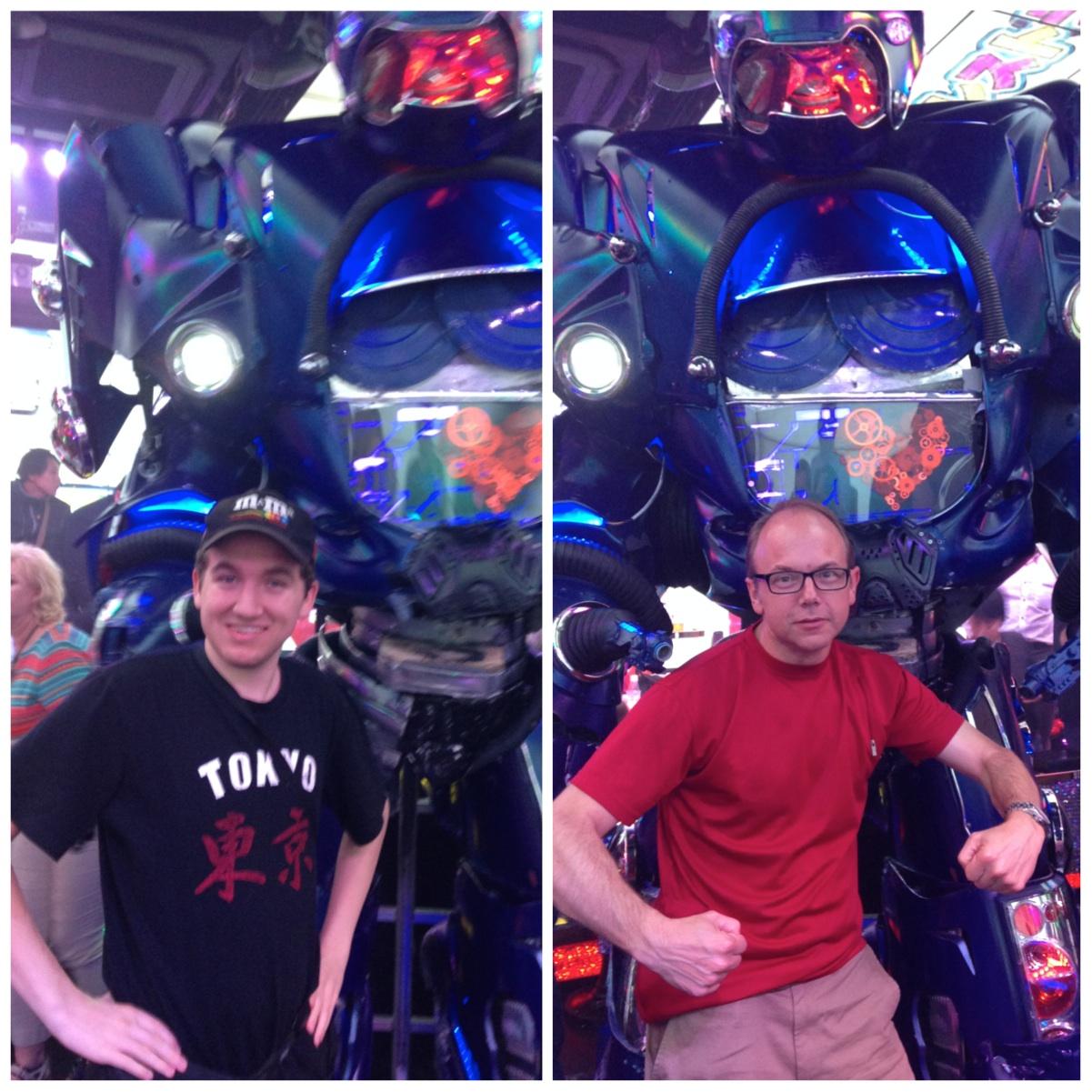 Robots! Yeah, yeah!