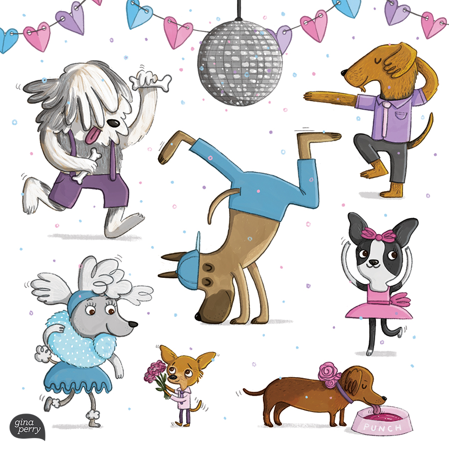 Doggie Dance-off