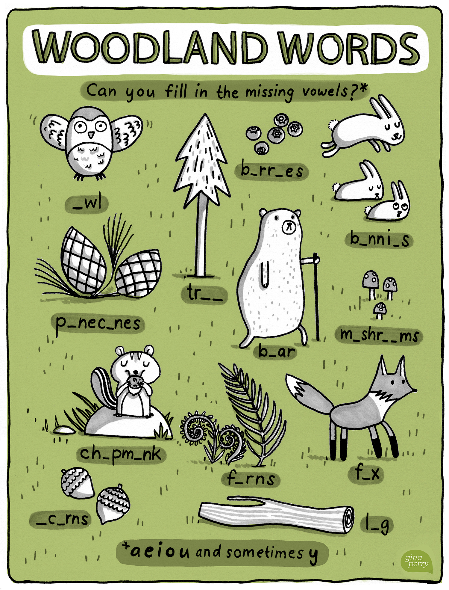 Woodland Words
