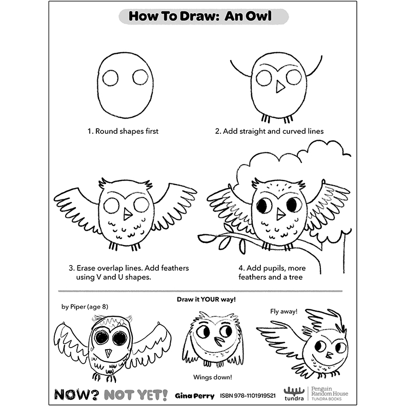 HOW-TO-DRAW: OWL