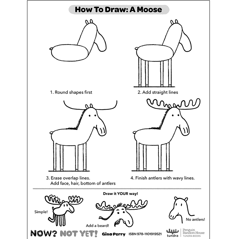 HOW-TO-DRAW: MOOSE