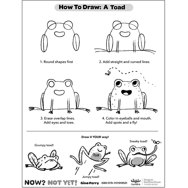 HOW-TO-DRAW: TOAD