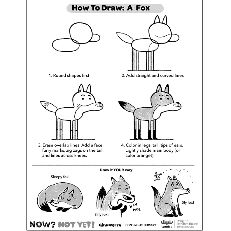 HOW-TO-DRAW: FOX