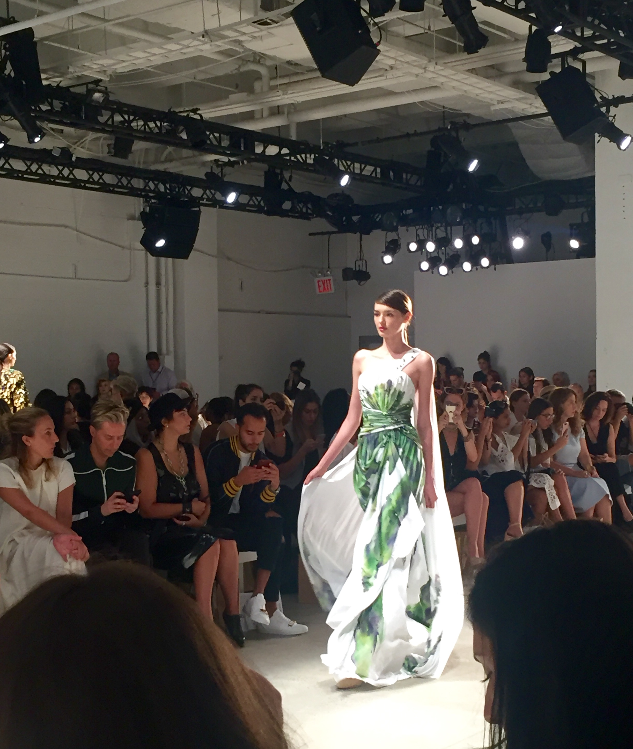 Another look from Duston Jusso's collection.
