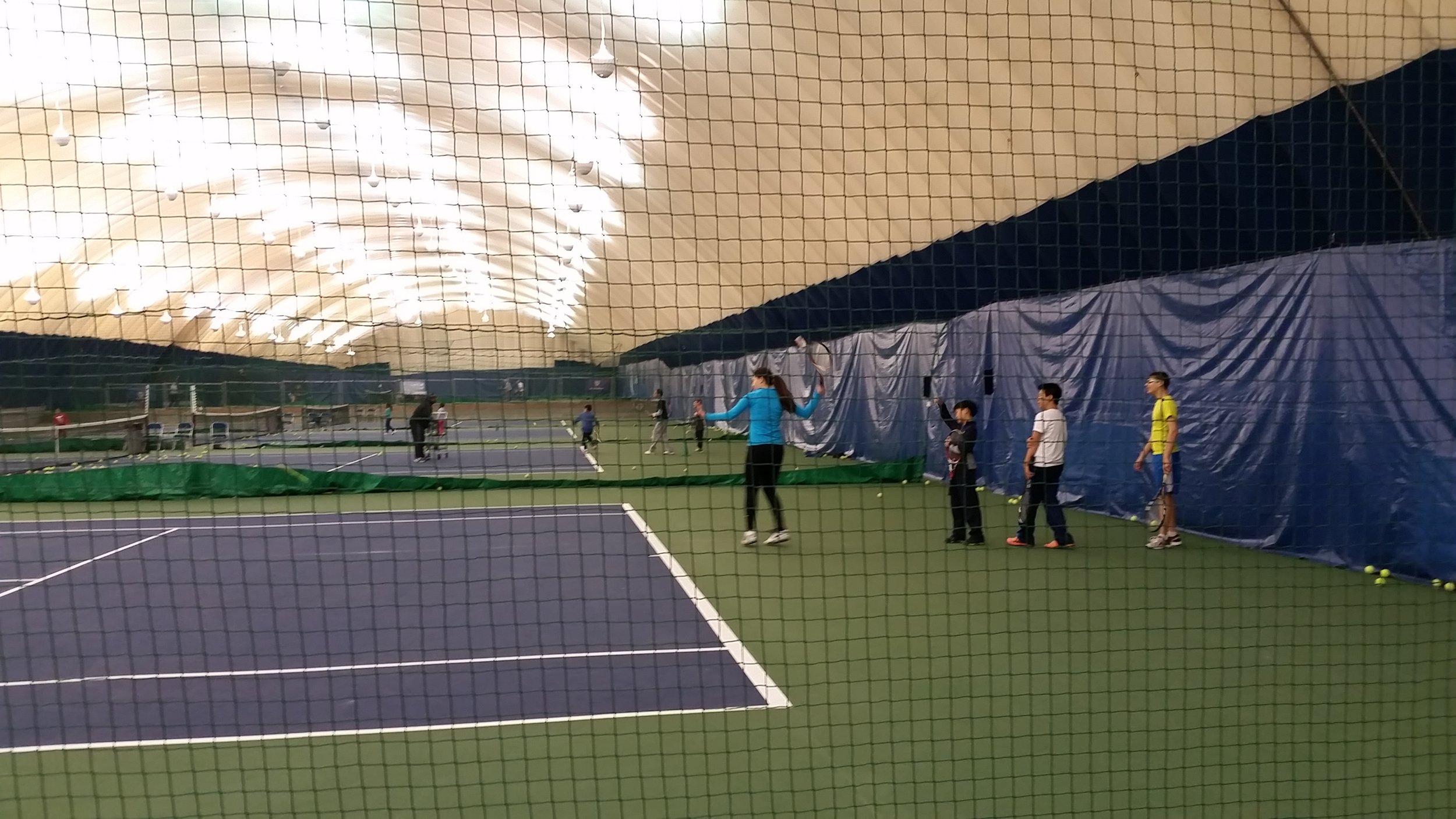 Classes at Alley Pond Tennis Center